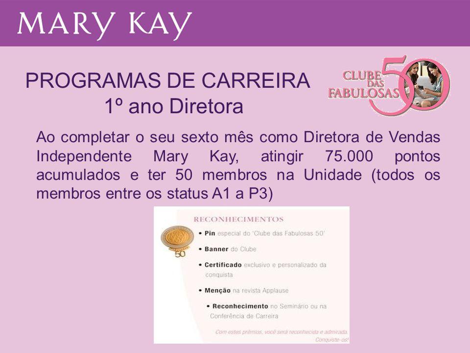 PROGRAMAS DE CARREIRA 1º ano Diretora