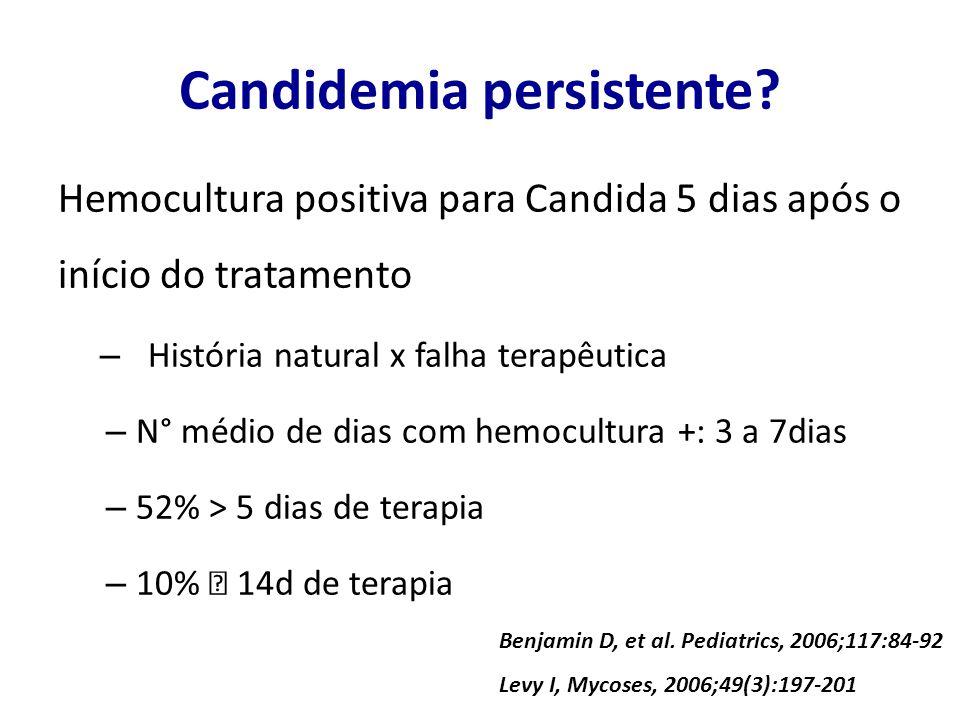 Candidemia persistente
