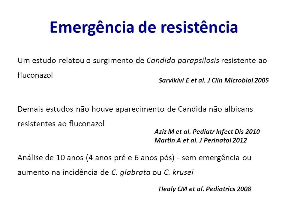 Emergência de resistência