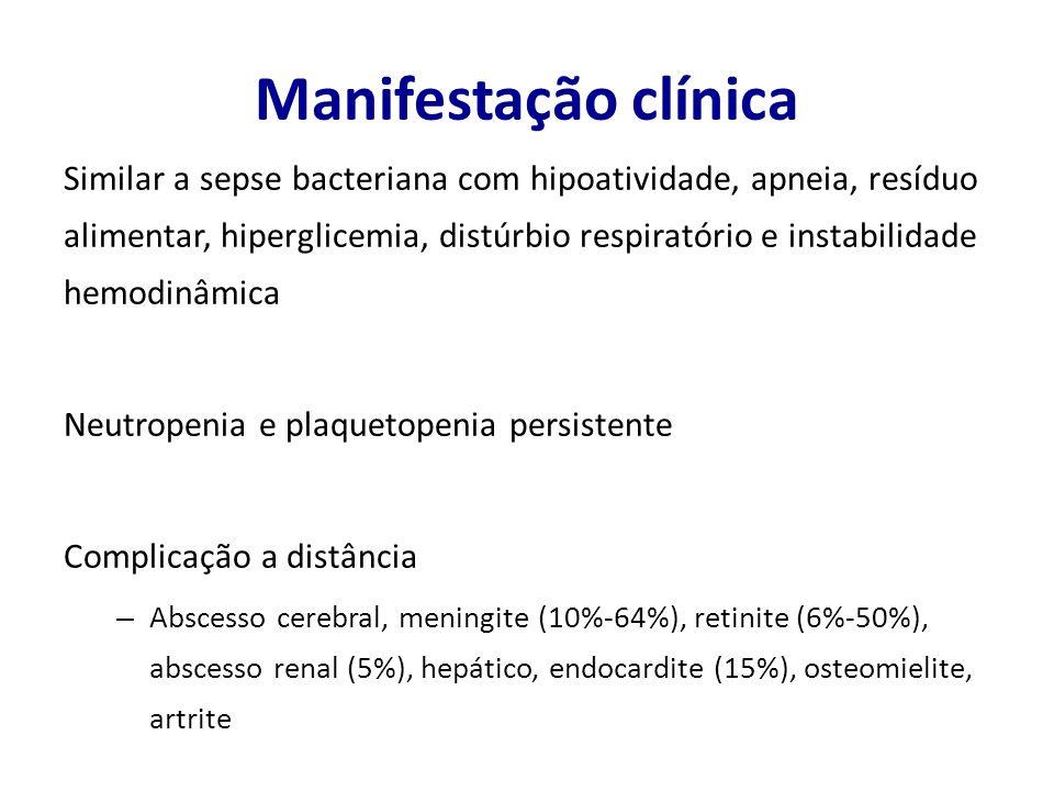 Manifestação clínica