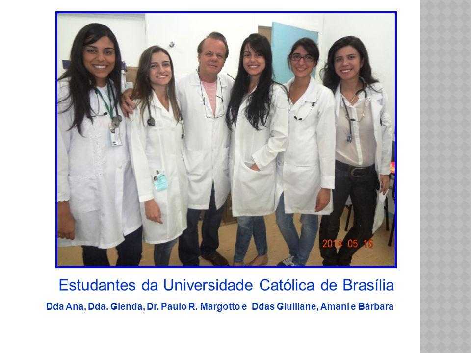 Estudantes da Universidade Católica de Brasília