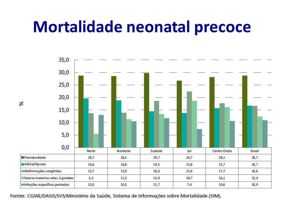 Mortalidade neonatal precoce