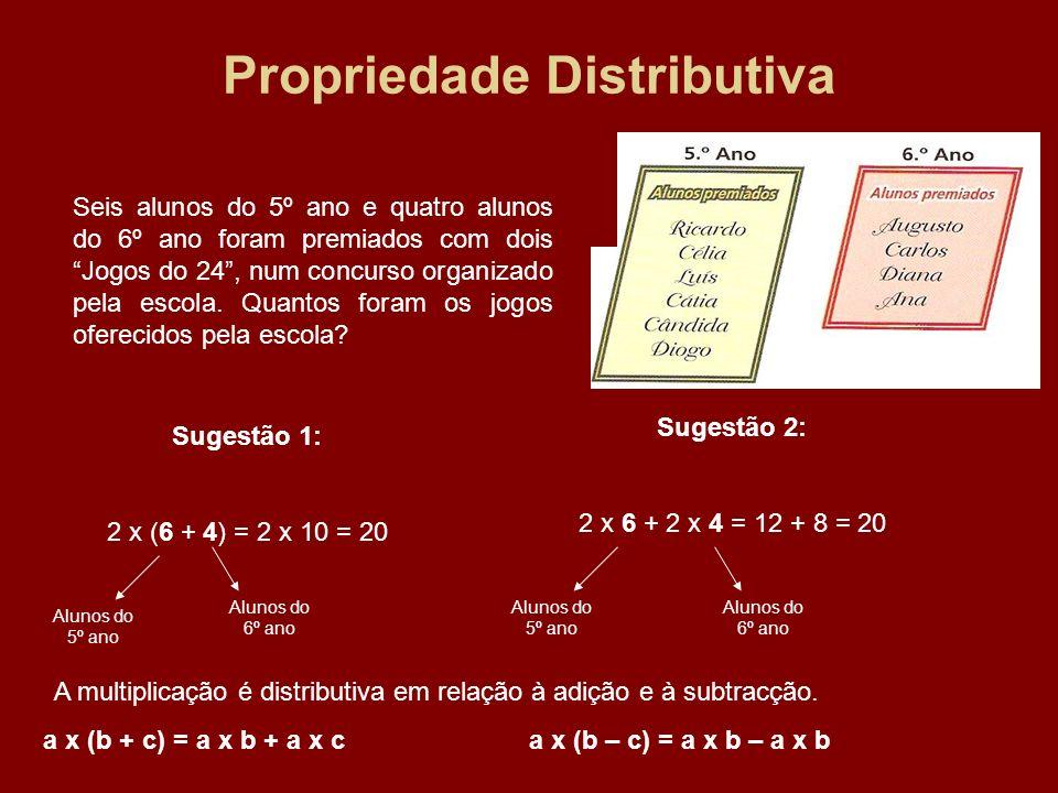 Propriedade Distributiva