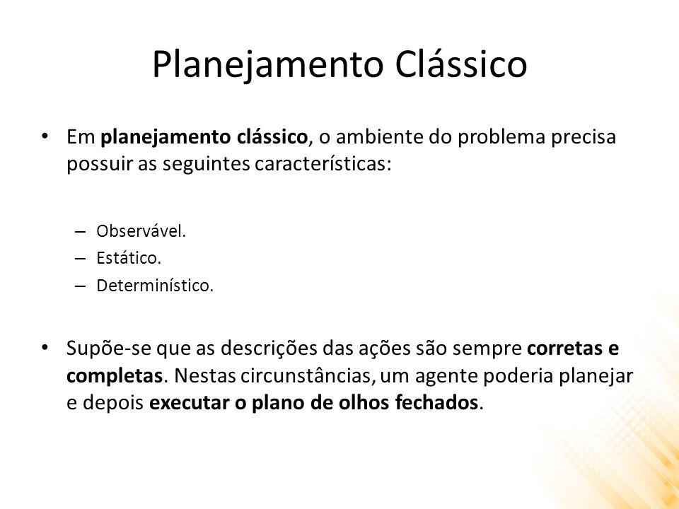 Planejamento Clássico