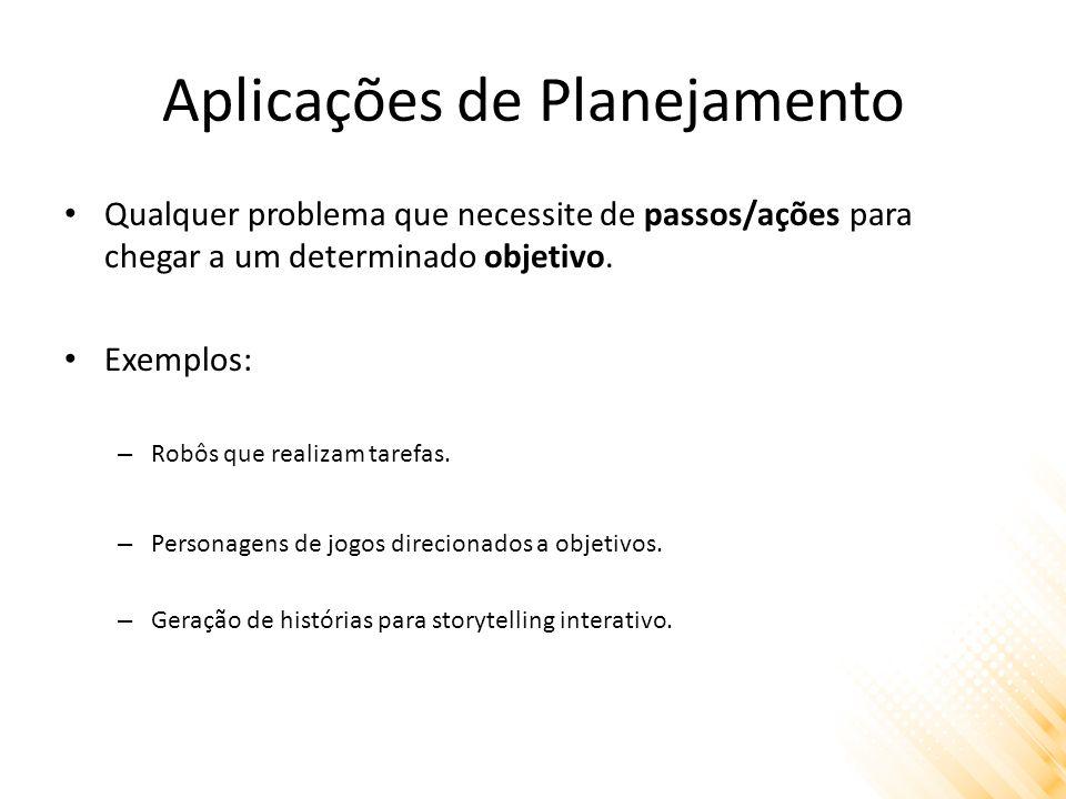 Aplicações de Planejamento