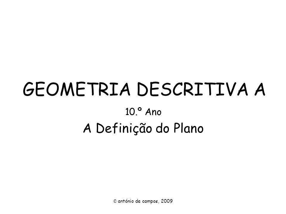 GEOMETRIA DESCRITIVA A