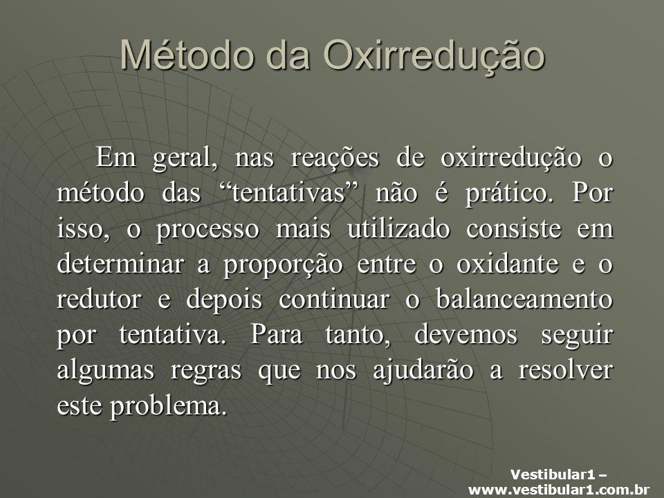 Método da Oxirredução