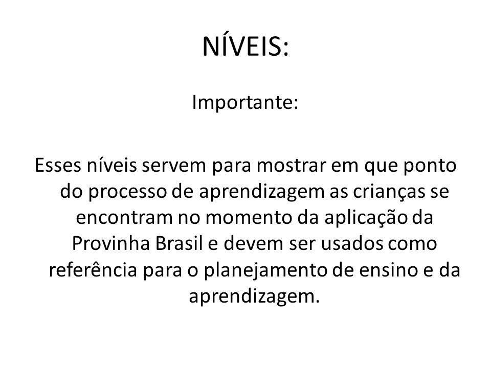 NÍVEIS: