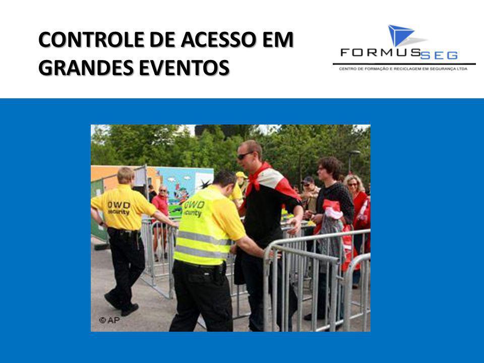CONTROLE DE ACESSO EM GRANDES EVENTOS
