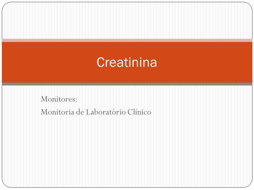 Monitores: Monitoria de Laboratório Clínico