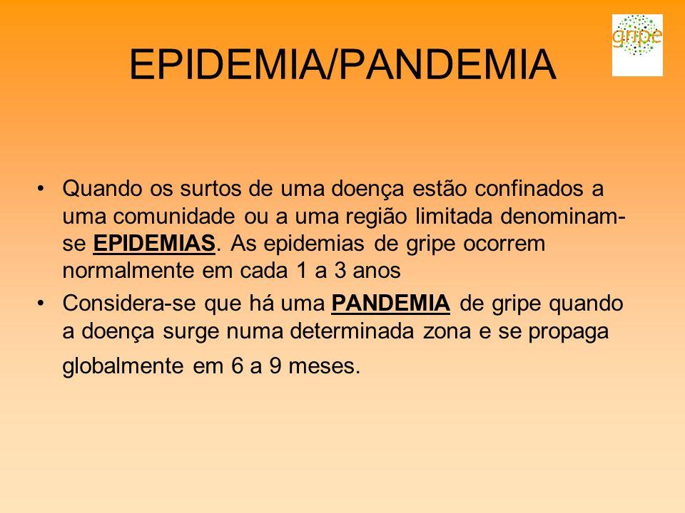 EPIDEMIA/PANDEMIA