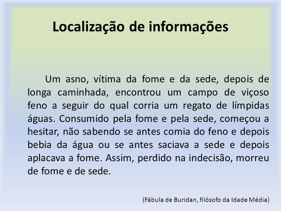Localização de informações