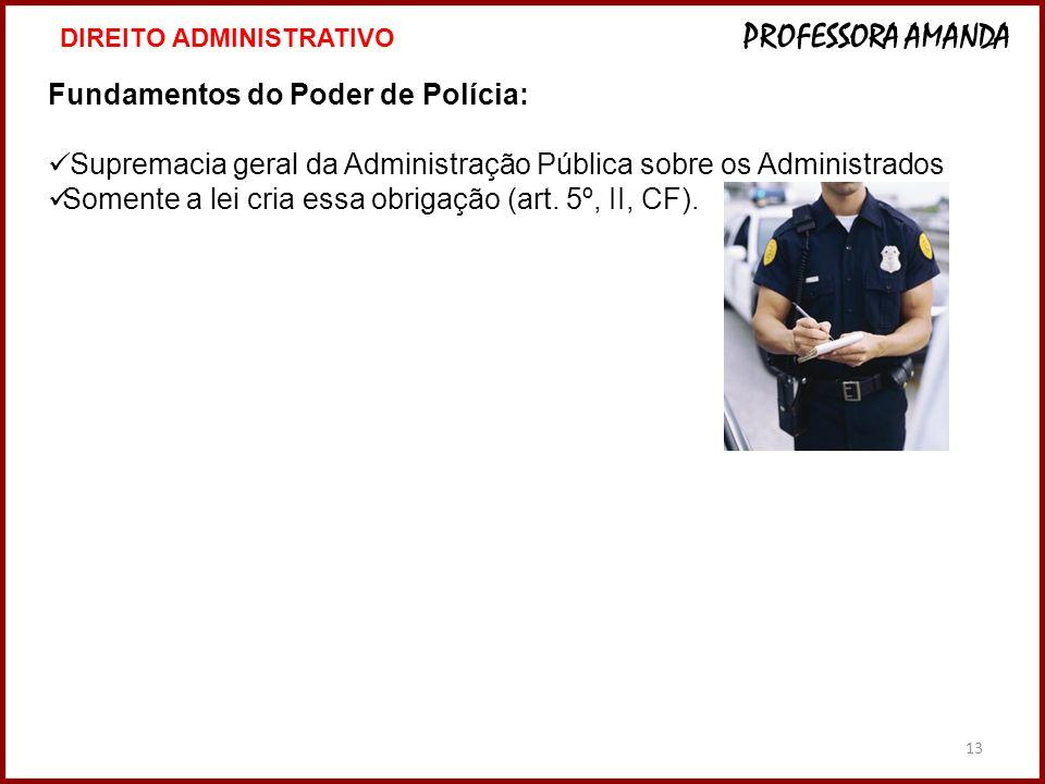 Fundamentos do Poder de Polícia: