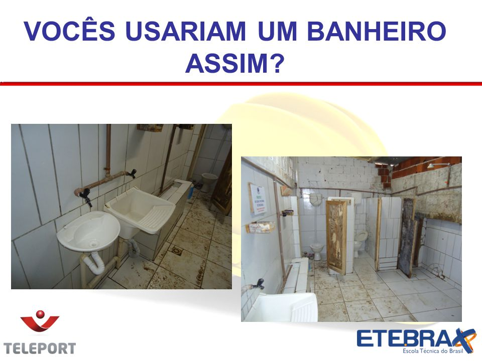VOCÊS USARIAM UM BANHEIRO ASSIM