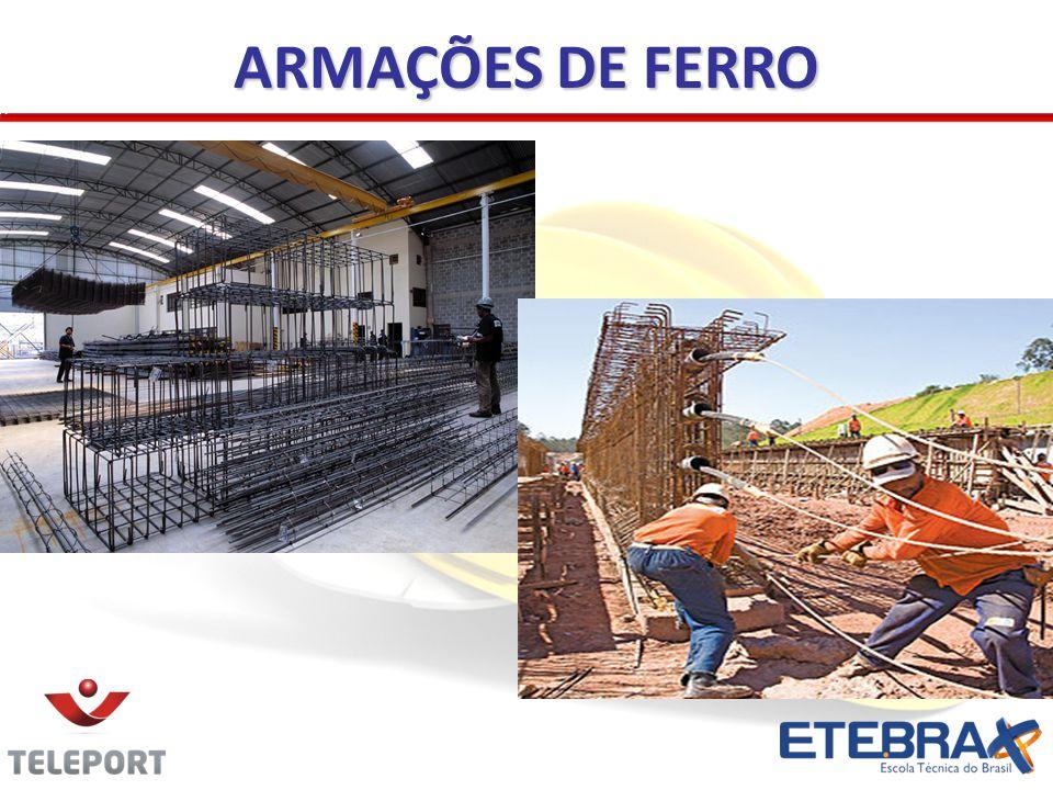 ARMAÇÕES DE FERRO