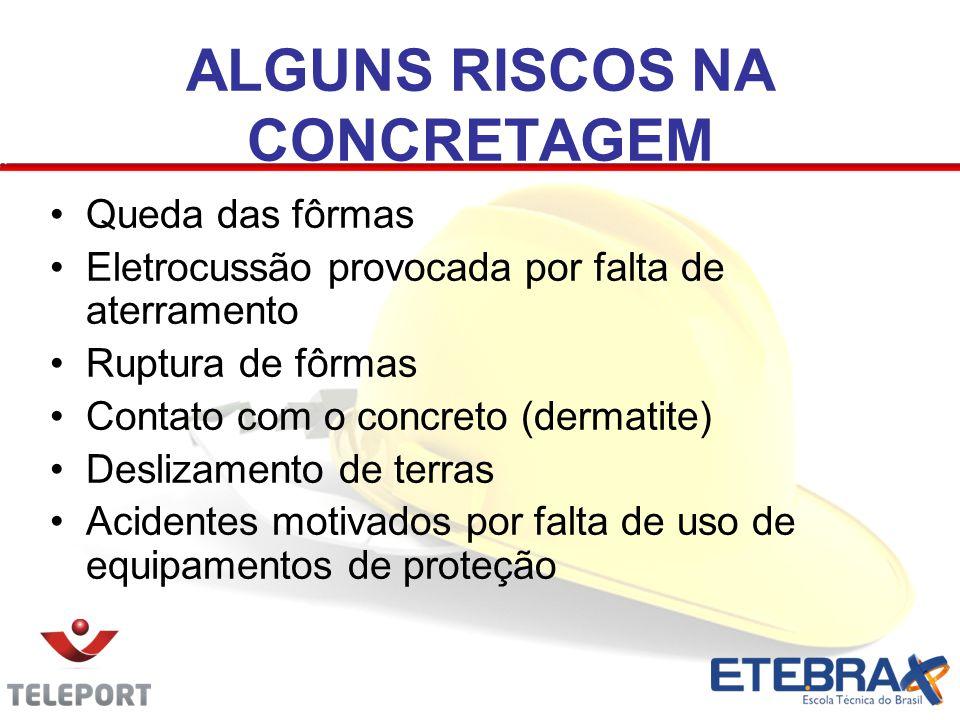 ALGUNS RISCOS NA CONCRETAGEM
