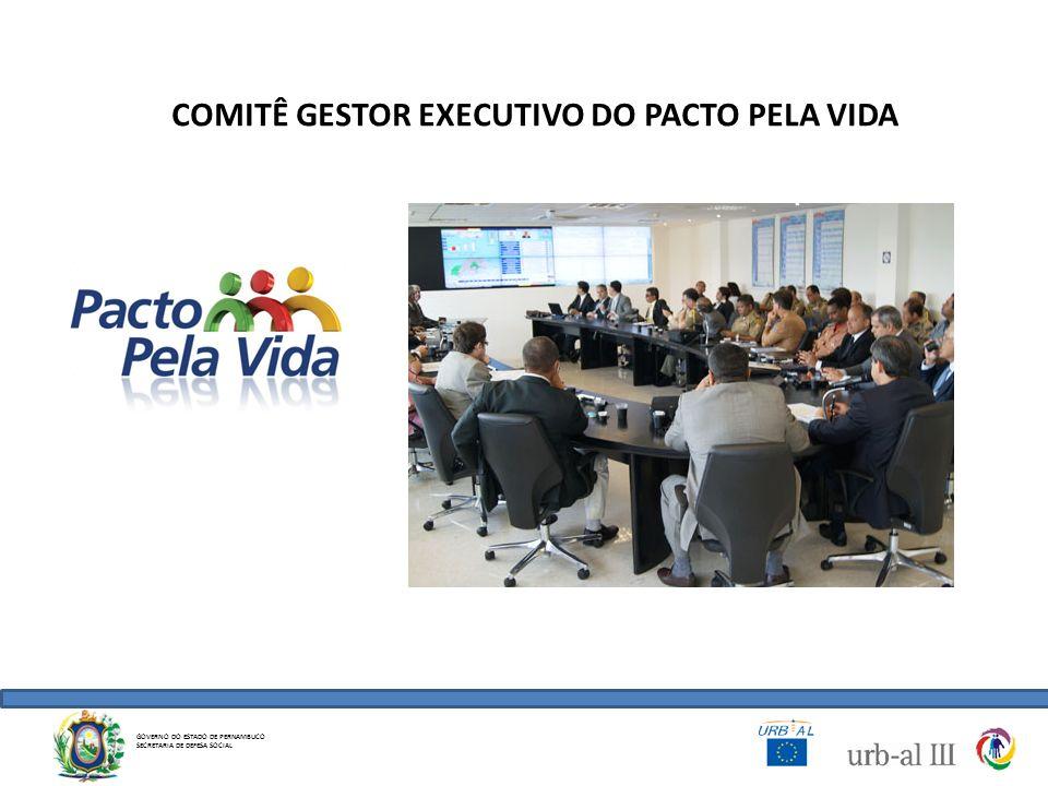 COMITÊ GESTOR EXECUTIVO DO PACTO PELA VIDA