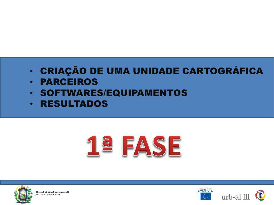 1ª FASE CRIAÇÃO DE UMA UNIDADE CARTOGRÁFICA PARCEIROS