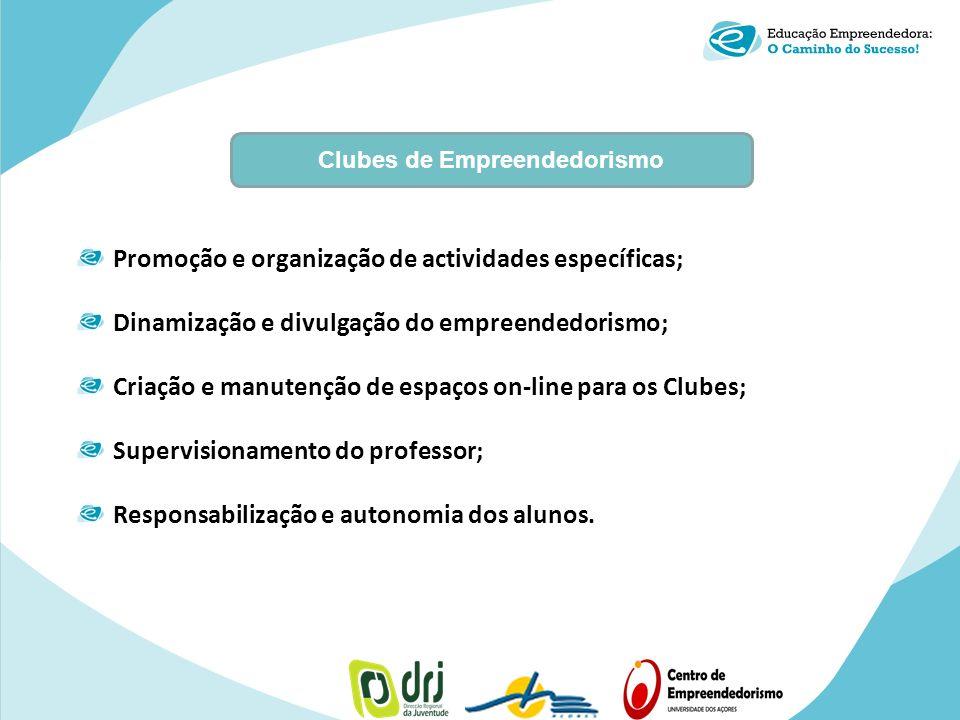 Clubes de Empreendedorismo