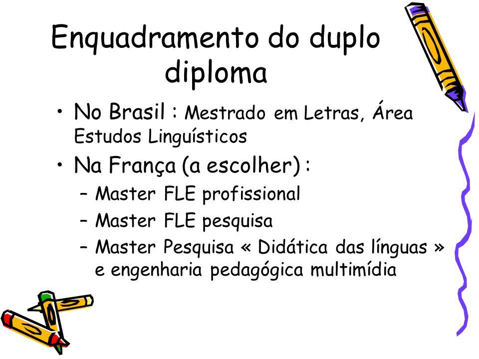 Enquadramento do duplo diploma
