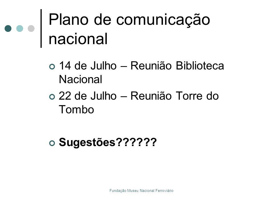 Plano de comunicação nacional