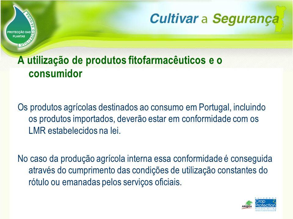 A utilização de produtos fitofarmacêuticos e o consumidor