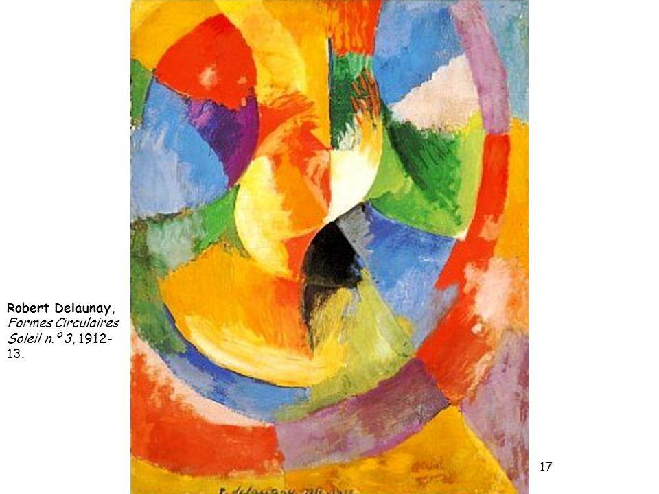 Robert Delaunay, Formes Circulaires Soleil n.º 3, 1912-13.