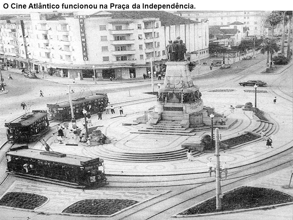 O Cine Atlântico funcionou na Praça da Independência.