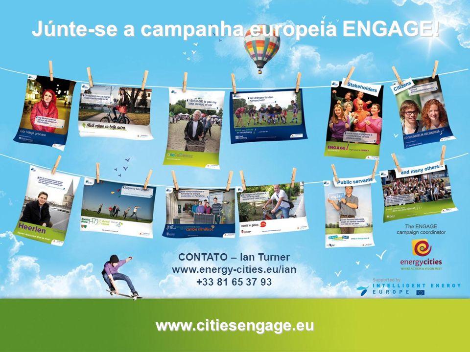 Júnte-se a campanha europeia ENGAGE!