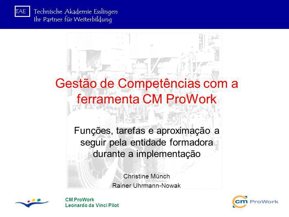Gestão de Competências com a ferramenta CM ProWork