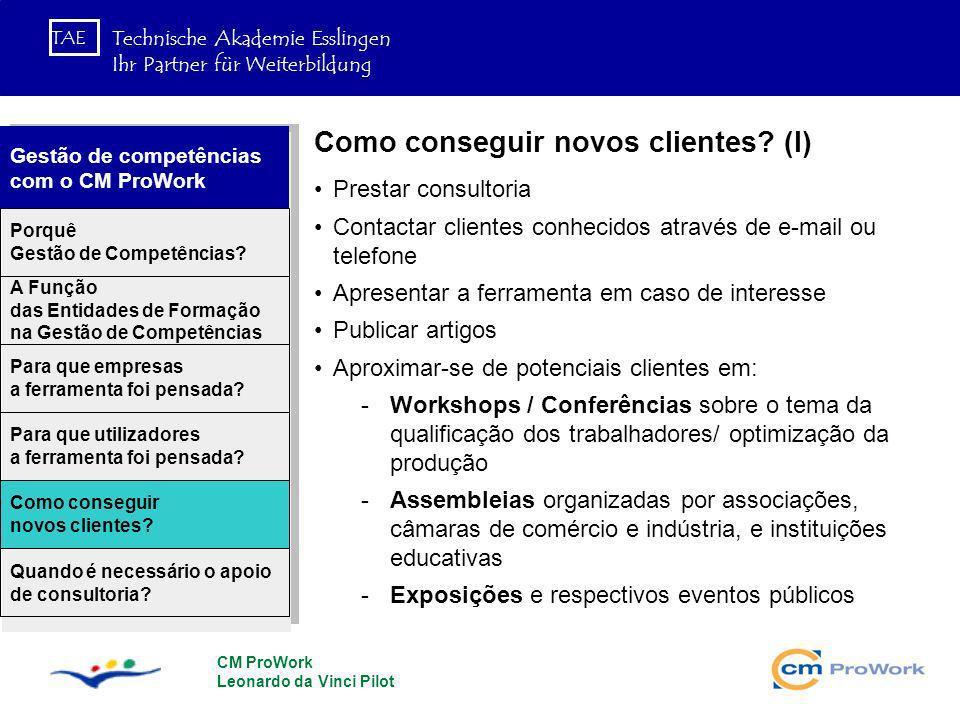 Como conseguir novos clientes (I)