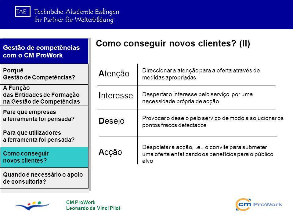 Como conseguir novos clientes (II)