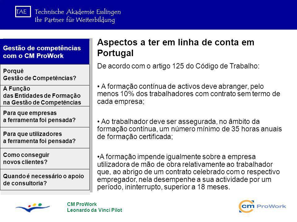Aspectos a ter em linha de conta em Portugal