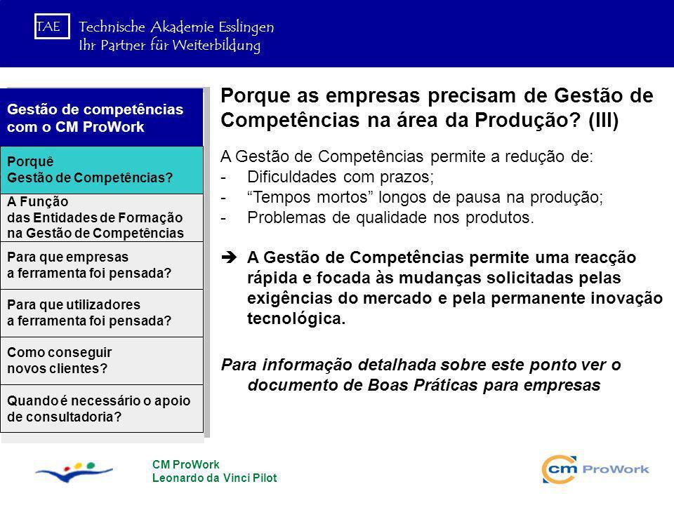 Porque as empresas precisam de Gestão de Competências na área da Produção (III)