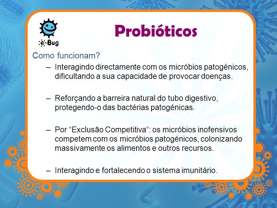Probióticos Como funcionam
