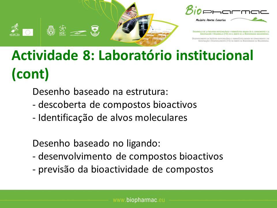 Actividade 8: Laboratório institucional (cont)