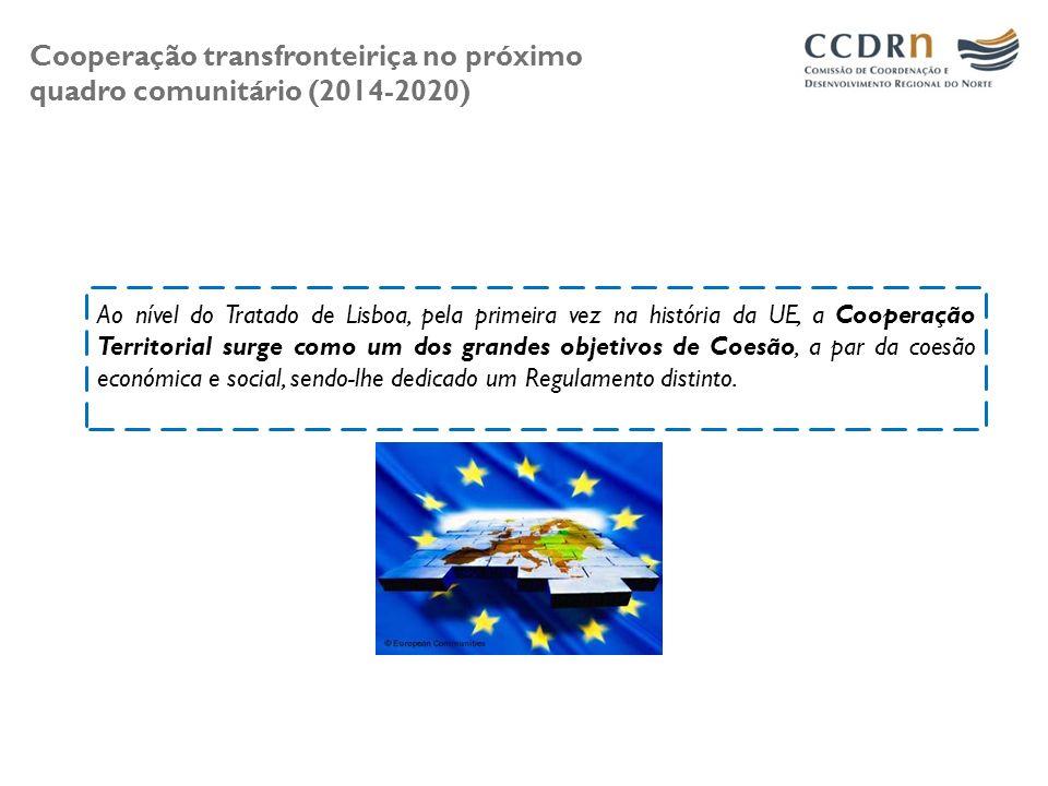 Cooperação transfronteiriça no próximo quadro comunitário (2014-2020)
