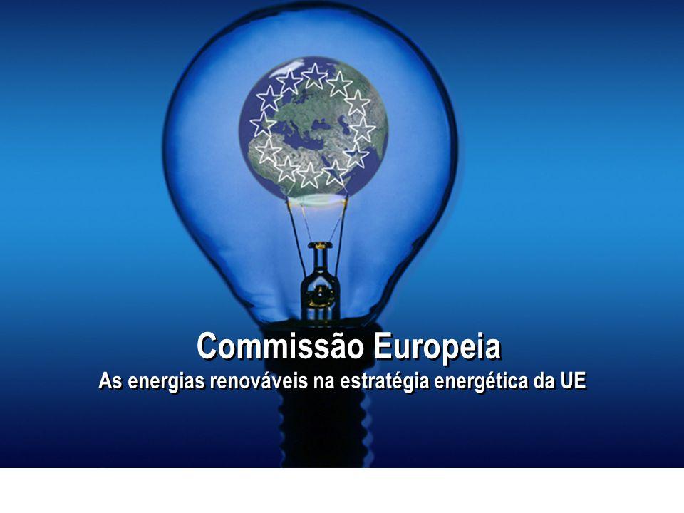 As energias renováveis na estratégia energética da UE