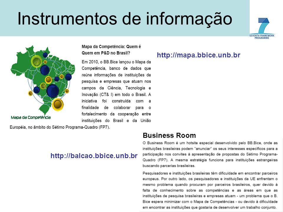 Instrumentos de informação