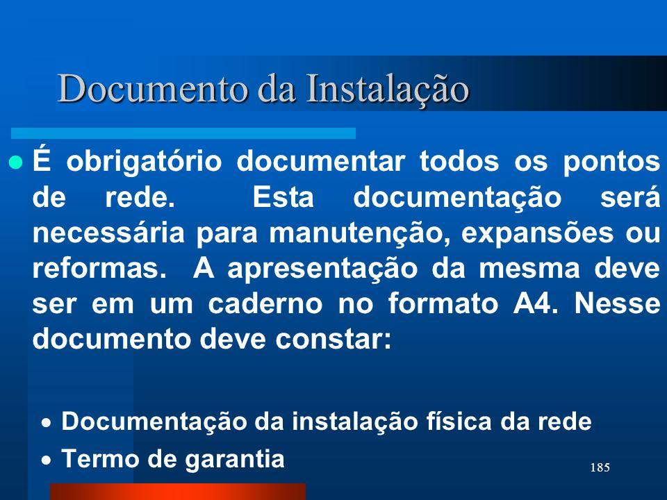 Documento da Instalação