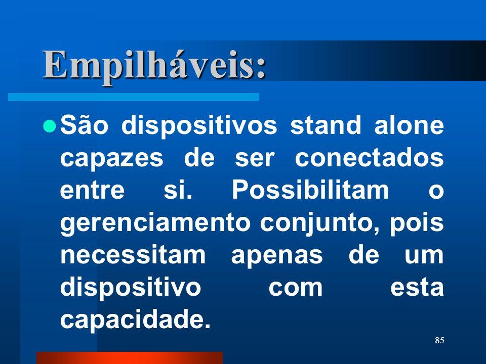 Empilháveis: