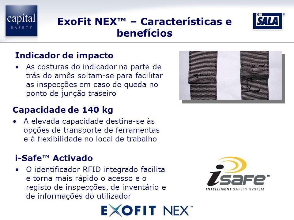 ExoFit NEX™ – Características e benefícios
