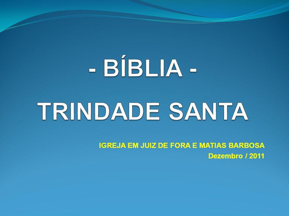 - BÍBLIA - TRINDADE SANTA