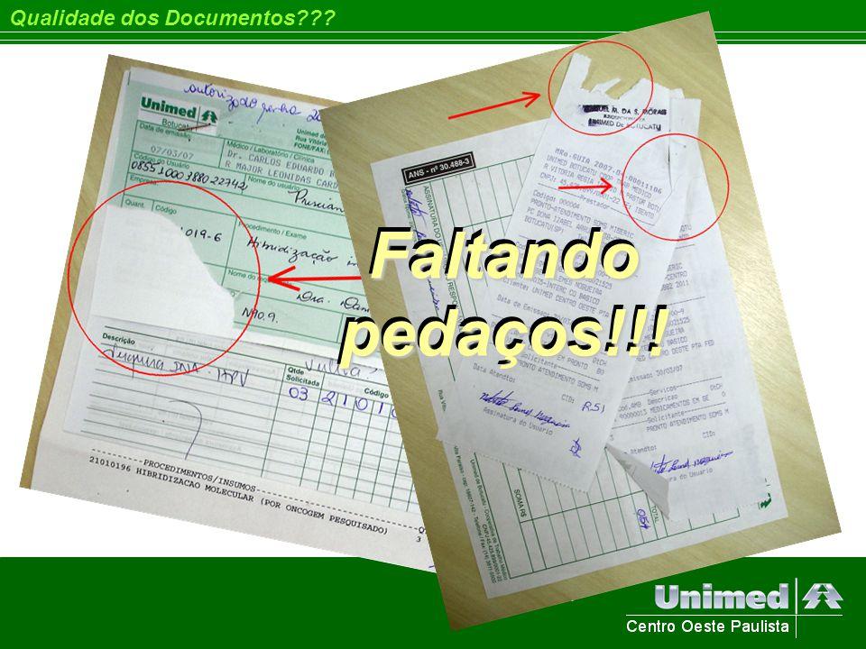 Qualidade dos Documentos