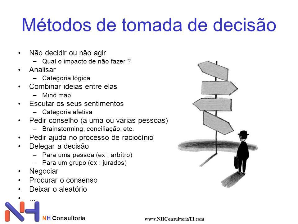Métodos de tomada de decisão