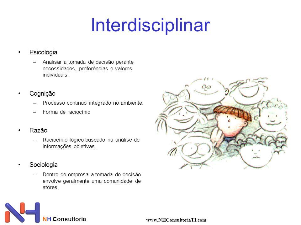 Interdisciplinar Psicologia Cognição Razão Sociologia NH Consultoria