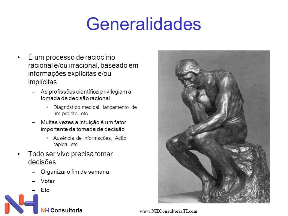 Generalidades É um processo de raciocínio racional e/ou irracional, baseado em informações explícitas e/ou implícitas.