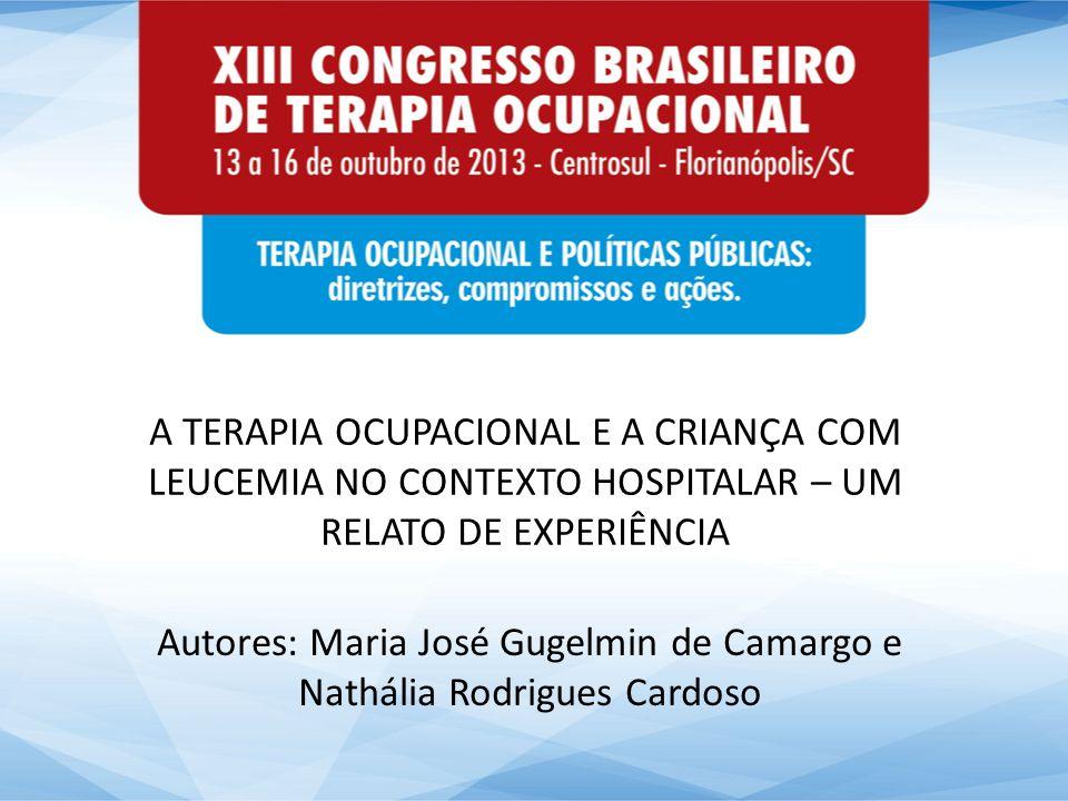 Autores: Maria José Gugelmin de Camargo e Nathália Rodrigues Cardoso