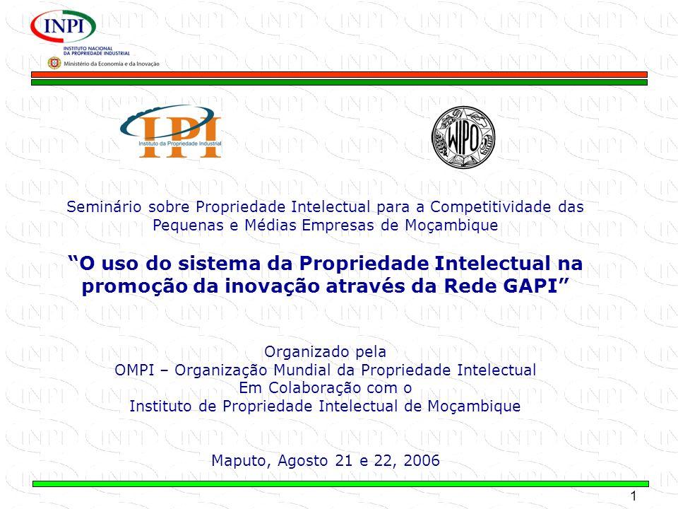 Seminário sobre Propriedade Intelectual para a Competitividade das Pequenas e Médias Empresas de Moçambique