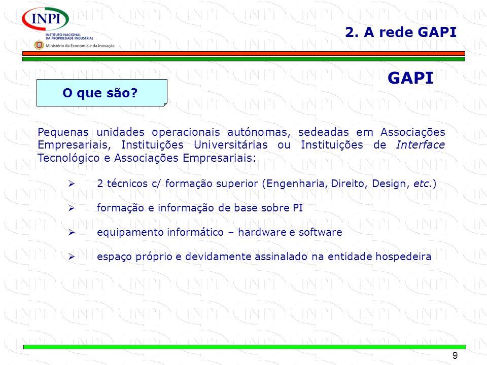 GAPI 2. A rede GAPI O que são